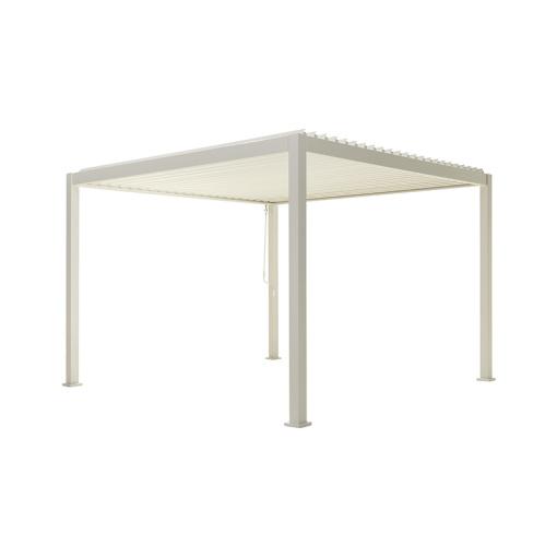 Overkapping - Wit Paviljoen - 3,6 x 3,6 meter-0