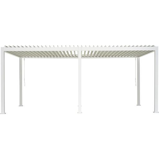Overkapping - Wit Paviljoen - 3 x 6 meter-0