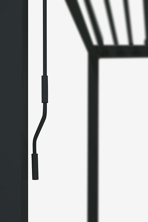 Overkapping - Zwart Paviljoen - 3 x 3 meter-4469